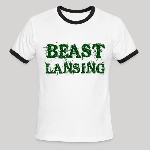 BEAST Lansing - Men's Ringer T-Shirt