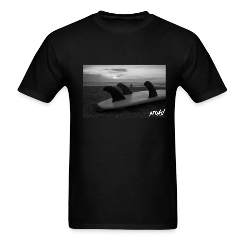 SURF - Black - Men's T-Shirt