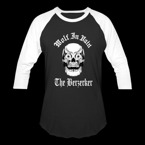 The Berzerker Baseball T-Shirt - Baseball T-Shirt