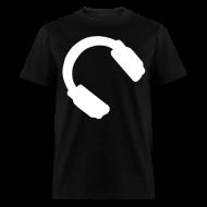 T-Shirts ~ Men's T-Shirt ~ Headphone Tee