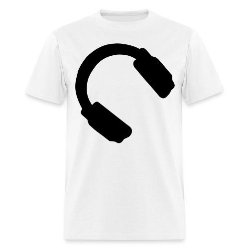 Headphone Logo Tee - Men's T-Shirt