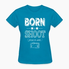 born to shoot forced to work