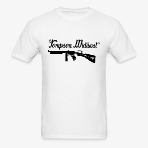 Tompson Midwest White Men's Shirt - Men's T-Shirt