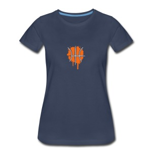 Basketball graffiti Women's T-Shirts - Women's Premium T-Shirt