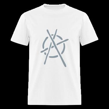 Graffiti Stencil Anarchy Logo T SHIRT Shirt