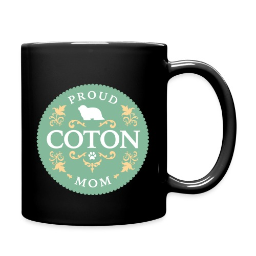 Proud Coton Mom - Full Color Mug
