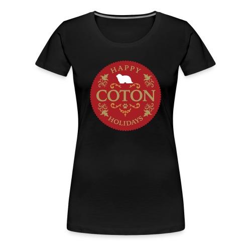 Proud Coton Mom - Women's Premium T-Shirt