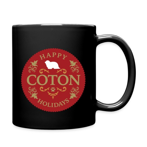 Happy Coton Holidays - Full Color Mug