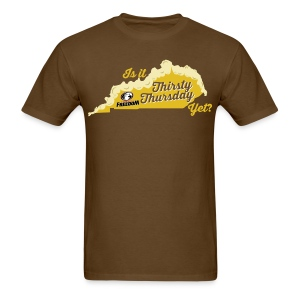 Is it Thirsty Thursday Yet? Men's - Men's T-Shirt