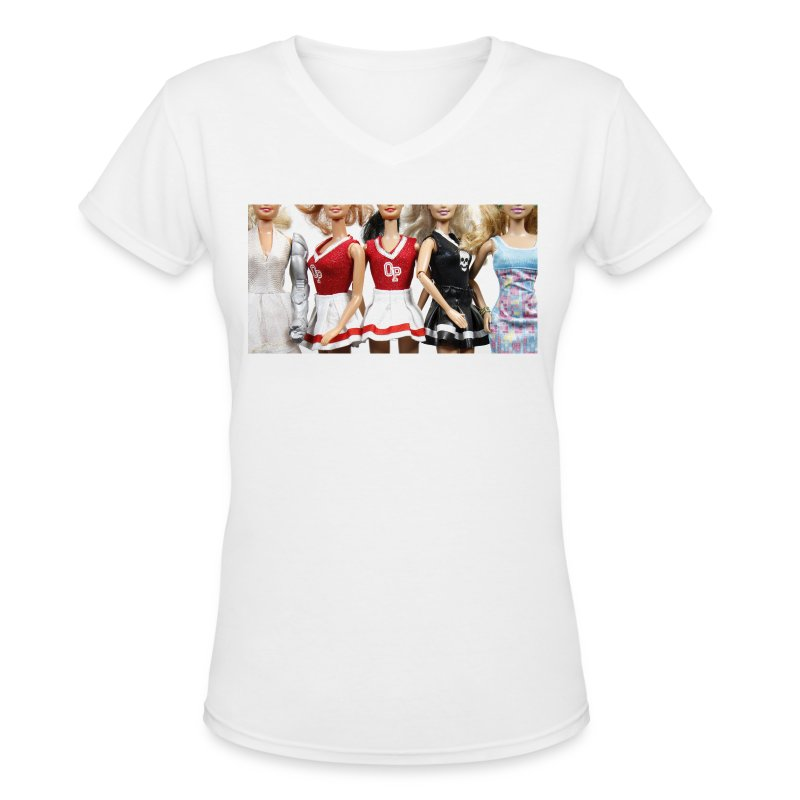 girls - Women's V-Neck T-Shirt