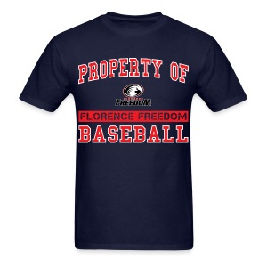 Property of Florence Freedom Baseball - Men's T-Shirt