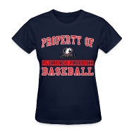 T-Shirts ~ Women's T-Shirt ~ Property of Florence Freedom Baseball