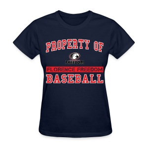 Property of Florence Freedom Baseball - Women's T-Shirt
