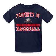 Kids' Shirts ~ Kids' T-Shirt ~ Youth Property of Florence Freedom Baseball