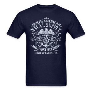 Naval Supply - Men's T-Shirt