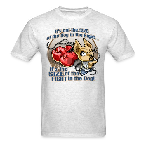 Rollin Low - Dog in the Fight - Men's T-Shirt