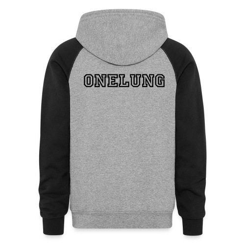 Onelung Hoodie with Diving Bell and Onelung - Colorblock Hoodie