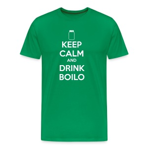 Keep Calm Drink Boilo - Men's - Big and Tall - Men's Premium T-Shirt