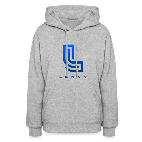 Lenny Blue Logo For Women - Women's Hoodie