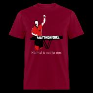 T-Shirts ~ Men's T-Shirt ~ Fistup Normal Burgundy Mens