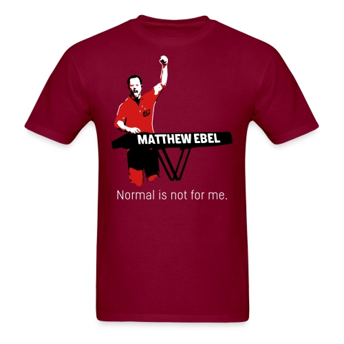 Fistup Normal Burgundy Mens - Men's T-Shirt