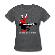 Women's T-Shirts ~ Women's T-Shirt ~ Fistup Normal Charcoal Womens