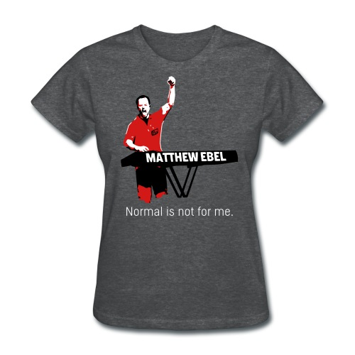 Fistup Normal Charcoal Womens - Women's T-Shirt