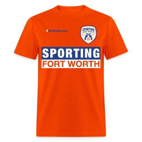 SFW Club Shirt 2015 (orange) - Men's T-Shirt