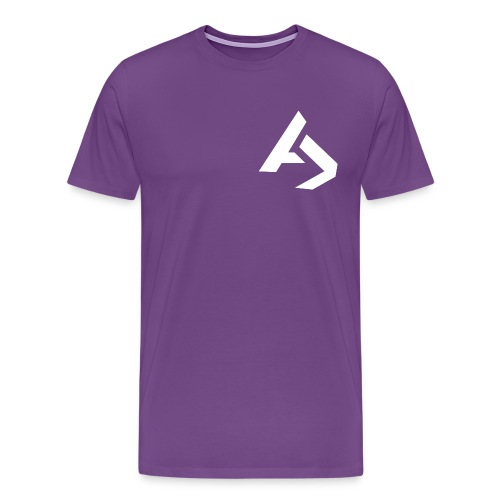 AJaxx Purple Men's T-Shirt - Men's Premium T-Shirt