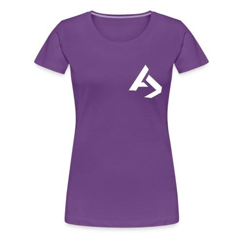 AJaxx Purple Women's T-Shirt - Women's Premium T-Shirt