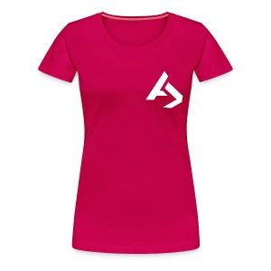AJaxx Pink Women's T-Shirt - Women's Premium T-Shirt