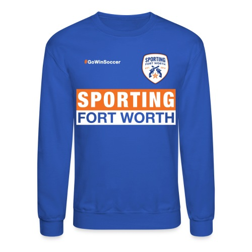 SFW Club Warmup 2015 (blue) - Crewneck Sweatshirt