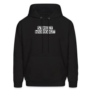 StreetWorkout! sweatshirt - Men's Hoodie