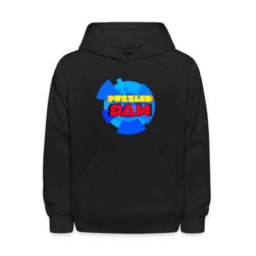 PuzzledSam Regular Kids Logo Hoodie - Kids' Hoodie