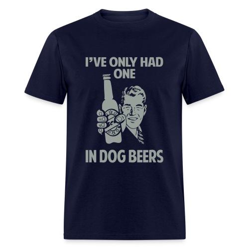 DOG BEERS - Men's T-Shirt