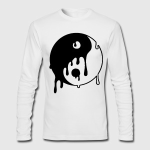 YING TO THE YANG - Men's Long Sleeve T-Shirt by Next Level
