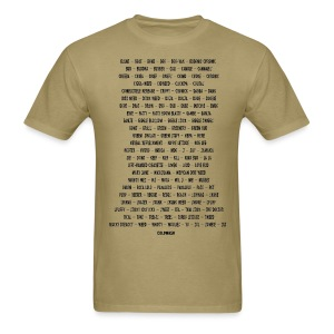ALL THE NAMES SHE GOES BY - Men's T-Shirt