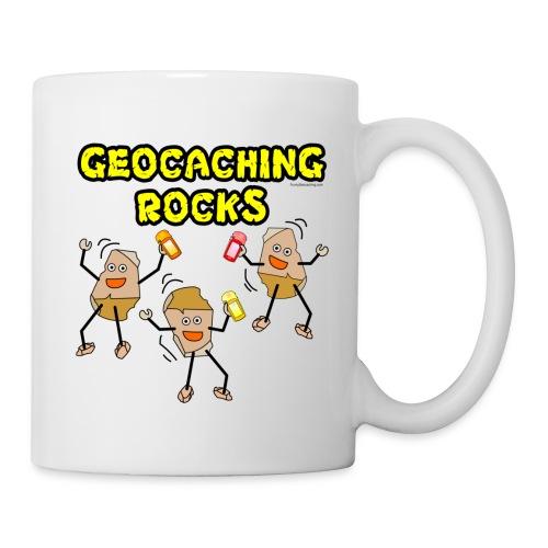 Three Geocaching Rocks - Coffee/Tea Mug