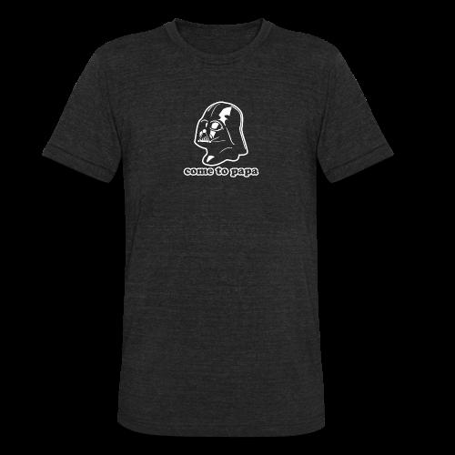Darth Vader Come to Papa T-Shirts - Unisex Tri-Blend T-Shirt