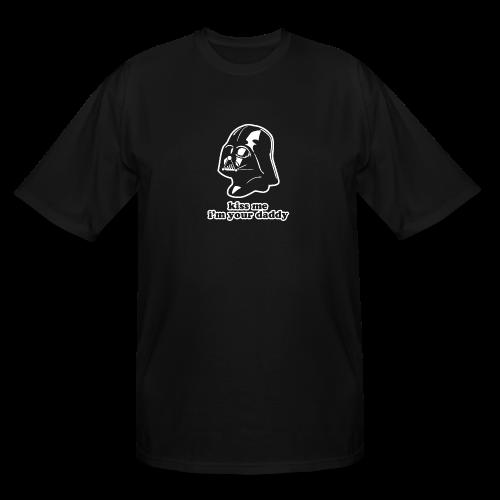 Darth Vader Kiss Me T-Shirts - Men's Tall T-Shirt