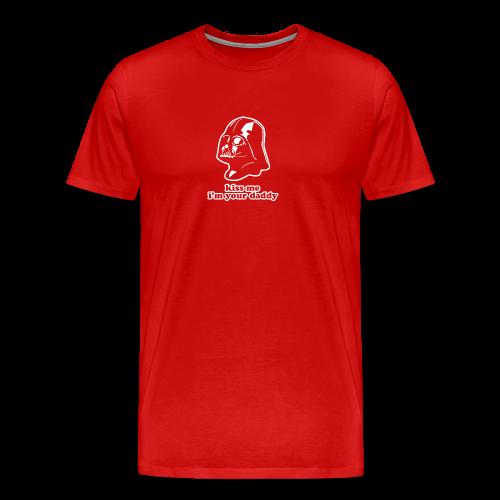 Darth Vader Kiss Me T-Shirts - Men's Premium T-Shirt