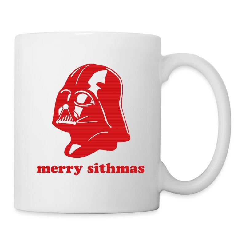 Darth Vader Merry Sithmas Mug Spreadshirt