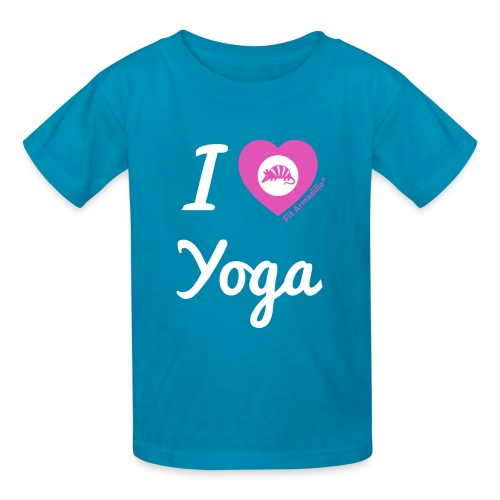 I Love Yoga - Kids - Kids' T-Shirt