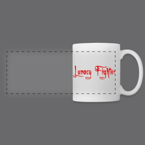 Lunacy Fighter Coffee Mug (Red) - Panoramic Mug