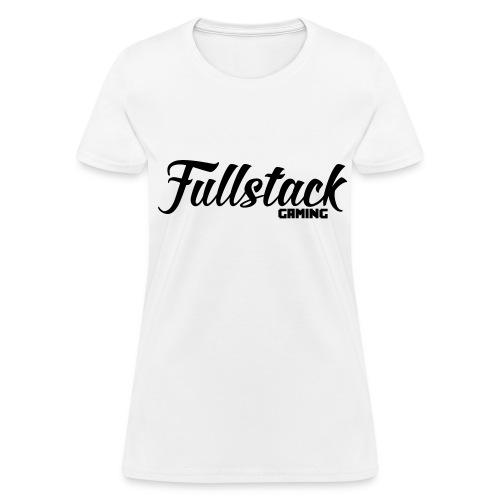fullstack gaming black - Women's T-Shirt