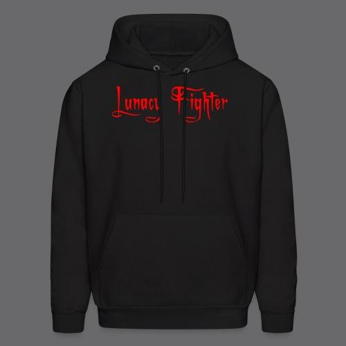 Mens Lunacy Fighter Hoodie (Red Lettering) - Men's Hoodie