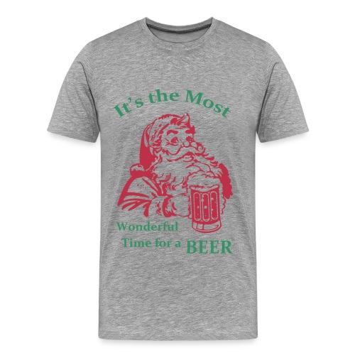 It's the most wonderful time  - Men's Premium T-Shirt