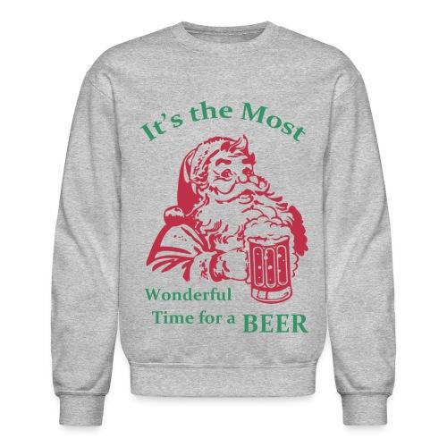 It's the most wonderful time  - Crewneck Sweatshirt