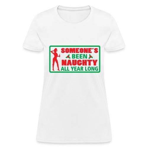 Naughty or nice? - Women's T-Shirt