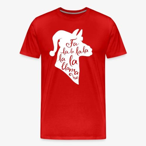 Fa La Llama - Men's Premium T-Shirt